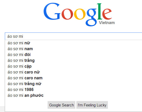 google suggest ao so mi nu